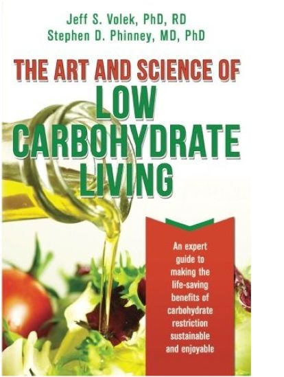 Art and Science of Low Carbohydrate Living Book Cover