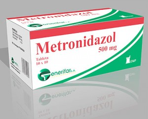 Metronidazole from wiki