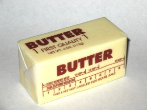 Butter (courtesy Wiki Commons)