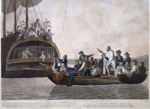 Mutiny on the Bounty from Wikicommons